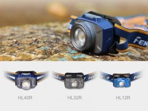Latarka diodowa Fenix HL32R czołówka niebieska