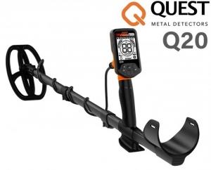 Wykrywacz metali Quest Q20 z cewką BLADE