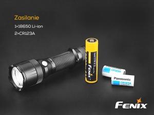 Latarka diodowa Fenix FD41 w zestawie z akumulatorem USB 2600 mAh