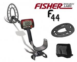 Wykrywacz metali Fisher F44 11'' Z OSŁONAMI