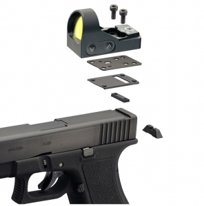 Montaż Delta Optical Glock 10 mm do Mini Dot HD