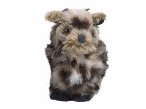 Maskotka Mała Sowa Nature De Brenne 12 cm pluszowa szara w cętki