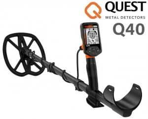 Wykrywacz metali Quest Q40 z cewką RAPTOR