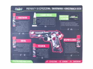 Pro Tech Guns Mata do czyszczenia broni 47x38
