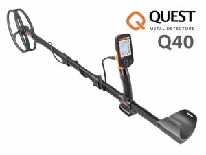 Wykrywacz metali Quest Q40 z cewką BLADE