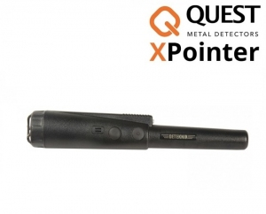 Wykrywacz metali Quest XPointer Land - czarny