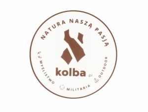 """Naklejka Kolba """"Natura naszą pasją"""""""