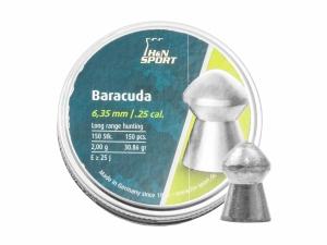 Śrut diabolo H&N Baracuda 6,35 mm 150 szt.