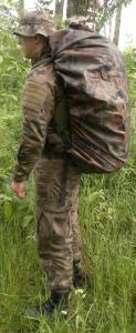 Pokrowiec przeciwdeszczowy KollteX czarny maxi