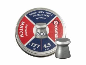 Śrut diabolo Crosman Premier Match 4,5 mm 500 szt.