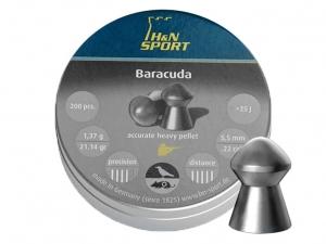 Śrut diabolo H&N Baracuda 5,5 mm 200 szt.