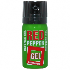 Gaz pieprzowy Defence Green Gel 2mln 40ml Cone (10040-C)