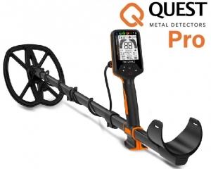 Wykrywacz metali Quest Pro z dwiema sondami