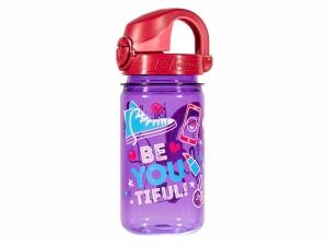 Butelka dziecięca Nalgene On The Fly 0,35 l purpurowa