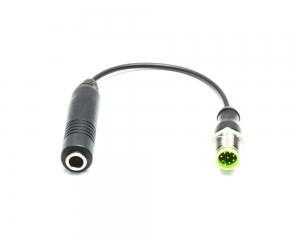 Adapter słuchawkowy do słuchawek z wtykiem duży Jack 1/4 detektora NOKTA MAKRO