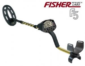 Wykrywacz metali Fisher F5 10''