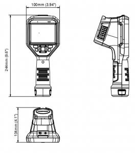 HIKVISION DS-2TP23-10VF/W Fusion ręczna kamera termowizyjna termowizor