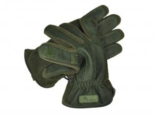 Rękawiczki skórzane z polarem Jahti Jakt