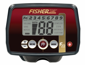 Wykrywacz metali Fisher F22 9''