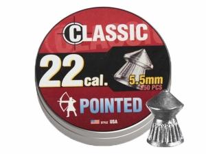 Śrut diabolo Classic Pointed Boxer 5,5 mm 250 szt. molet