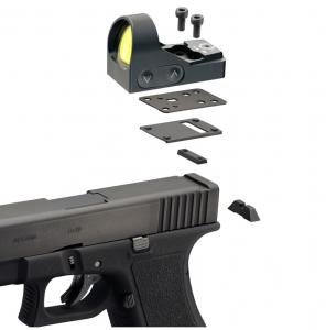 Montaż Delta Optical Glock 9 mm do Mini Dot HD