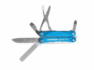Multitool Leatherman Squirt PS4 niebieski