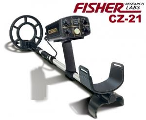 Wykrywacz metali Fisher CZ21 Underwater 10.5''