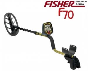 Wykrywacz metali Fisher F70 11'' DD