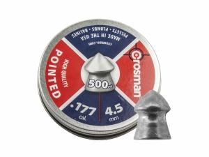 Śrut diabolo Crosman Pointed 4,5 mm 500 szt.