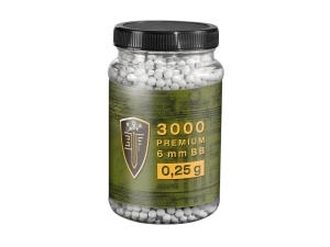 Kulki BB do ASG Elite Force Premium 0,25 g 6 mm 3000 szt.