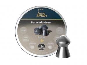 Śrut diabolo H&N Baracuda Green 5,5 mm 200 szt.