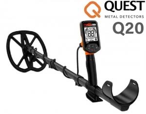 Wykrywacz metali Quest Q20 z cewką RAPTOR