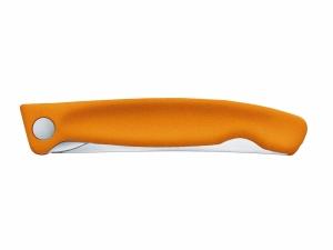 Nóż Victorinox Swiss Classic 6.7836.F9B ząbkowany, pomarańczowy