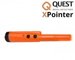 Wykrywacz metali Quest XPointer Land - pomarańczowy