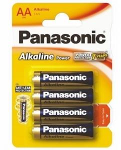 Bateria Alkaliczna AA (4 szt) Panasonic BRONZE