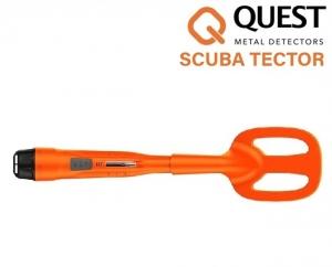 Wykrywacz metali Quest Scuba Tector V.2019 - pomarańczowy