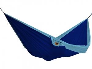 Hamak Ticket To The Moon dwuosobowy niebiesko-turkusowy