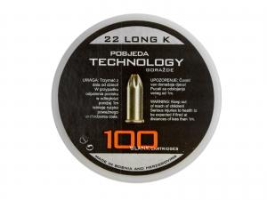 Amunicja hukowa PTG kal. 6 mm long op. 100 szt.